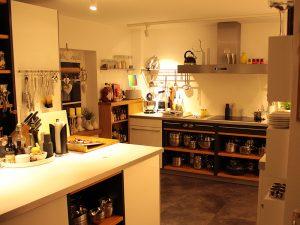 Küche im Lille Eventhus
