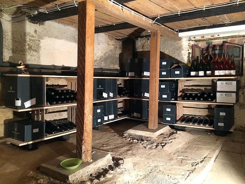 Der Weinkeller im Lille Eventhus