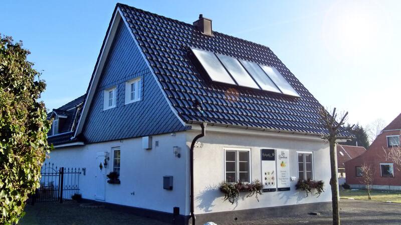 Das Lille Eventhus der Kochgräfin Corinna Graf in Lauenburg